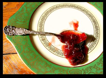 luscious berry rhubarb homemade jam