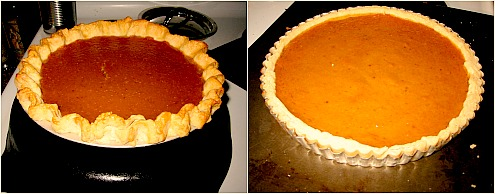 pumpkin pie and pumpkin tart Galeux dEysines Pumpkin: You Had Me at Hello