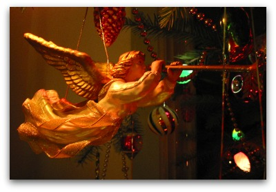 Christmas angel Welcoming the Ghosts of Christmas Past