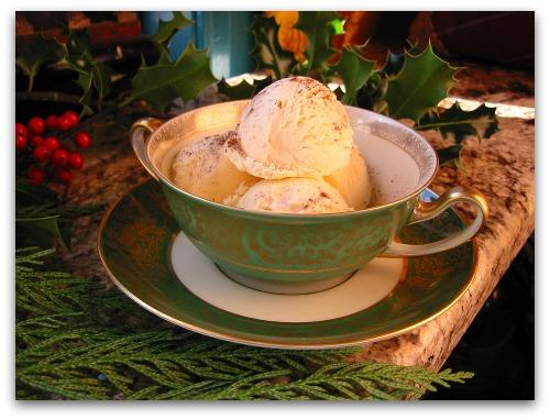 Eggnog Ice Cream: The Easiest Recipe Ever - Tall Clover Farm