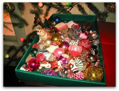 Christmas tree treasures