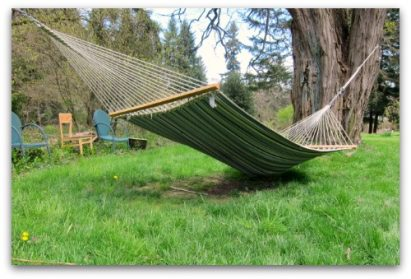 sagging hammock