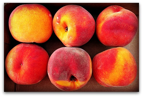 orange red peaches1 Video: The Best Way to Ripen Peaches