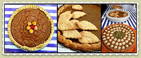 pumpkin pie collage frame Pumpkin Pie Judge: Best Job Ever!