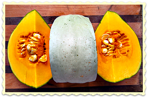 roasted pumpkin sweet meat squash Warm Up to Roasted Pumpkin Soup