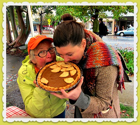 viga pie contest megan karen Pumpkin Pie Judge: Best Job Ever!