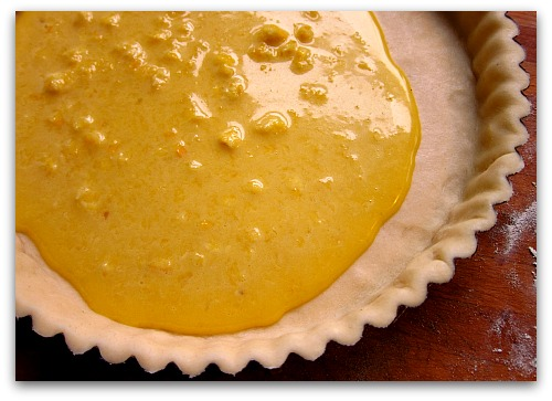 shaker lemon pie tart filling Shaker Lemon Pie Dressed as a Tart