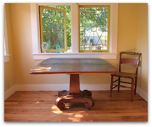 pedestal table repaired Tall Clover Chronicles: Confessions of an Unbalanced Force