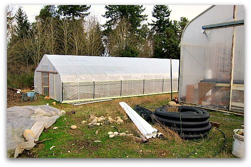high tunnel hoop house When a Greenhorn Builds a Greenhouse