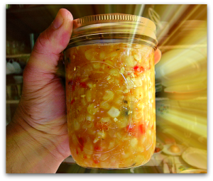 corn relish canning2 300x255 Corn Relish: Too Good Not to Make